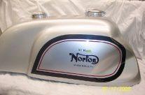 1967 Norton Manx Tank – Gus Kuhn